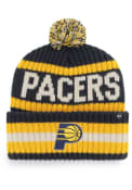 Indiana Pacers 47 Bering Cuff Knit - Navy Blue