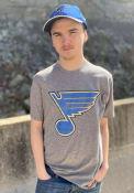 St Louis Blues 47 Match Fashion T Shirt - Grey