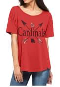 47 St Louis Cardinals Womens Red Boyfriend Scoop