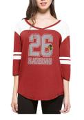 47 Chicago Blackhawks Womens Red Rush T-Shirt