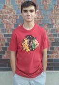 47 Chicago Blackhawks Red Knockout Fashion Tee