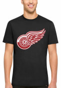 '47 Detroit Red Wings Black All Pro Flanker Tee Fashion Tee