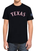 47 Texas Rangers Navy Blue Two Peat Fashion Tee