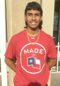 47 Texas Rangers Red Crosstown Flanker Fashion Tee
