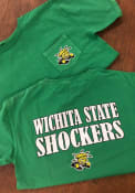 Original Retro Brand Wichita State Shockers Green St Pat`s Fashion Tee