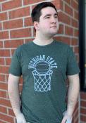 Original Retro Brand Michigan State Spartans Grey Basketball Fashion Tee