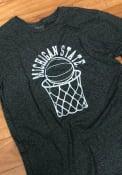 Original Retro Brand Michigan State Spartans Green Basketball Fashion Tee