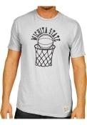 Original Retro Brand Wichita State Shockers White Basketball Fashion Tee