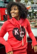 Kansas City Monarchs Womens Original Retro Brand Ilene Hooded Sweatshirt - Red