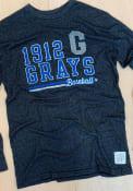 Homestead Grays Original Retro Brand Mock Twist Fashion T Shirt - Black