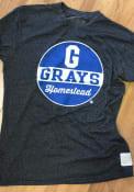 Original Retro Brand Homestead Grays Black Mock Twist Fashion Tee