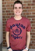 Dayton Flyers Original Retro Brand Logo Fashion T Shirt - Red