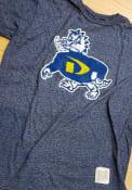 Original Retro Brand Drexel Dragons Navy Blue Logo Fashion Tee
