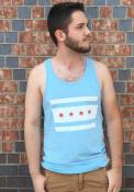 Original Retro Brand Chicago Light Blue City Flag Tank Top