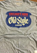Original Retro Brand Old Style Grey Logo Short Sleeve T Shirt