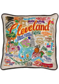 Cleveland 20x20 Embroidered Pillow