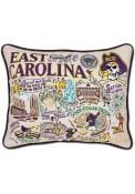 East Carolina Pirates 16x20 Embroidered Pillow