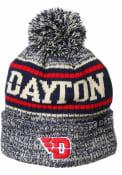 Dayton Flyers Springfield Cuff Pom Knit - Navy Blue