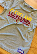Under Armour Cleveland Cavaliers Youth Grey Split Tech T-Shirt