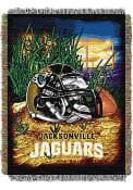 Jacksonville Jaguars 48x60 Home Field Advantage Tapestry Blanket