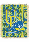 Delaware Fightin' Blue Hens 46x60 Double Play Jacquard Tapestry Blanket