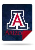 Arizona Wildcats 60x72 Silver Knit Throw Blanket