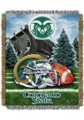 Colorado State Rams 48x60 Home Field Advantage Tapestry Blanket