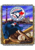 Toronto Blue Jays 48x60 Home Field Advantage Tapestry Blanket