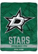 Dallas Stars Break Away Raschel Blanket