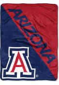 Arizona Wildcats Halftone Micro Raschel Blanket