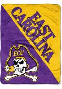 East Carolina Pirates Halftone Micro Raschel Blanket