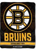 Boston Bruins Breakaway Micro Raschel Blanket