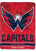 Washington Capitals Breakaway Micro Raschel Blanket
