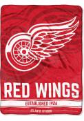 Detroit Red Wings Breakaway Micro Raschel Blanket