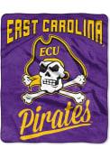 East Carolina Pirates Alumni Raschel Blanket