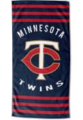 Minnesota Twins Stripes Beach Towel