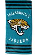 Jacksonville Jaguars Stripes Beach Towel