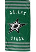 Dallas Stars Stripes Beach Towel
