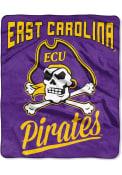 East Carolina Pirates Silk Touch Fleece Blanket
