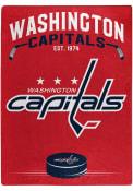 Washington Capitals Silk Touch Fleece Blanket