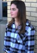 Dallas Stars Womens Headway Plaid Sleep Shirt - Black