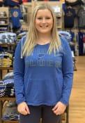 St Louis Blues Womens Mainstream Hooded Sweatshirt - Blue
