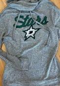 Dallas Stars Womens Layover Grey Crew Sweatshirt