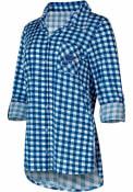 St Louis Blues Womens Wanderer Sleep Shirt - Navy Blue