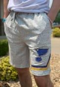 St Louis Blues Throttle Shorts - Grey