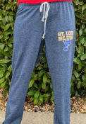 St Louis Blues Womens Mainstream Sweatpants - Navy Blue