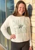 Dallas Stars Womens Colonnade Crew Sweatshirt - White