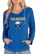 Buffalo Sabres Womens Mainstream Terry Hooded Sweatshirt - Blue