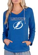 Tampa Bay Lightning Womens Mainstream Terry Hooded Sweatshirt - Blue