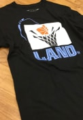 Cleveland Cavaliers Mitchell and Ness The Land Fashion T Shirt - Black